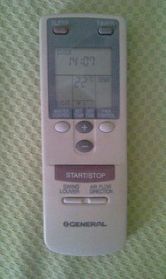 Whirlpool bedroom remote